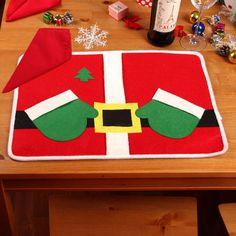 Decoration De Noel Bottes En Feutrines