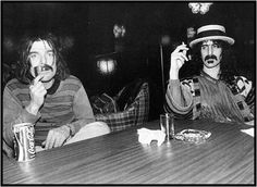 Don Van Vliet and Frank Zappa Uncredited and Undated Photograph - Don Van Vliet 1941-2010 Ave atque Vale Rock N Roll Baby, Rock And Roll, Frank Zappa, Captain Beefheart, Austin Music, Riot Grrrl, Mick Jagger, Jim Morrison, Jimi Hendrix