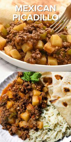 Comida Latina, Flour Tortillas, Easy Dinner Recipes, Dinner Ideas With Beef, Ground Beef Dinner Ideas, Good Dinner Ideas, Best Dinner Recipes Ever, Romantic Dinner Recipes, Quick Easy Dinner
