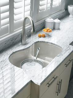 Smart Divide®: Cast Iron Kitchen Sinks