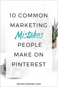 I've outlined a few common mistakes people make when marketing their businesses on Pinterest. If you're making these same mistakes I have some solutions for you that you can implement to start getting real results from your Pinterest marketing efforts. Click to read!
