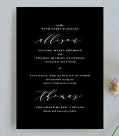 20 Minimal Wedding Invitations - Perspective Invite from Minted - Card Box Wedding, Wedding Stationary, Wedding Thank You Cards, Wedding Paper, Wedding Chair Signs, Rustic Wedding Signs, Wedding Table Numbers, Free Wedding, Plan Your Wedding