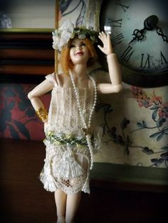Example for Heidi Ott dolls Gatsby Girl by PhoebesIrishMinis