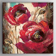 【今だけ☆送料無料】 アートパネル  静物画1枚で1セット レッド 赤 バラ お花【納期】お取り寄せ2~3週間前後で発送予定