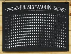 Kicking myself for already having purchased a 2014 moon phase calendar! This one is amazing.