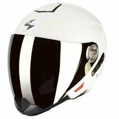 Scorpion EXO-300 Dual Homologation helmet in White