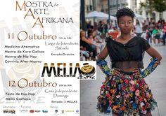 A Mostra de Arte Afrikana MAA, é um evento mensal que vai para mais uma edição. Acontece em Lisboa e tem como objectivo valorizar a criatividade africana. Criativos da moda, das artes plásticas, artesãos, entre outros marcam a sua presença no evento. A organização Mella Centre procura sempre ter uma programação apelativa que nos faça reflectir sobre a cultura africana na sua diversidade e sobre o bem estar. Contamos com a sua presença.Até breve.