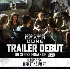The Death Cure trailer is going to come out during the series finale of Teen Wolf.