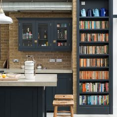 The beautiful Balham Kitchen full of bits and pieces collected over the years by this lovely couple