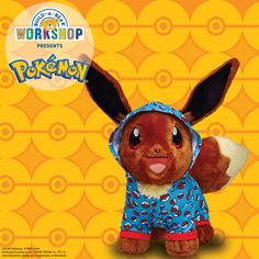 Online Exclusive! Add Eevee to your Pokémon collection! The amazingly adaptive Eevee creature from Pokémon evolves into many different Pokémon depending on its environment. Plus, Eevee comes in an exclusive Pokémon cape - not sold in stores - a Pokeball Sleeper, and Eevee's signature sounds.