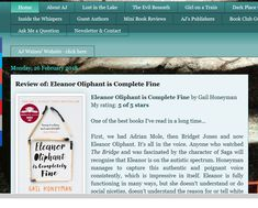 My Review of Eleanor Oliphant is Completely Fine: Stunning debut...