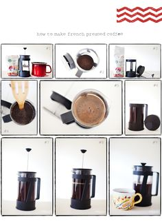 Anyone who doesn't use a french press is seriously missing out. Soooo much better than drip. Coffee Recipes, French Press, Coffee Drinks, Coffee Maker, Beverages, Geek, Future, Food, Coffee Maker Machine