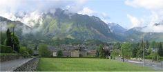 En arrivant à Bedous - Vallée d'Aspe, Pyrénées Atlantique
