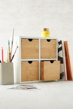 Bamboo Tabletop Organizer Urban Roomsbamboo Furnituree