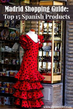 Is Madrid, Spain your next travel destination? Check out this guide that offers 15 ideas on what unique Spanish products to bring home from your trip.