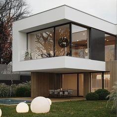 39 Ideas Exterior Architecture Minimalist Home For 2019 Modern Exterior, Exterior Design, Interior Modern, Scandinavian Interior, Modern Mansion, Dream House Exterior, House Goals, Modern House Design, House Structure Design