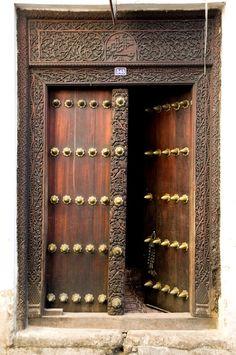 #543, Zanzibar Doors