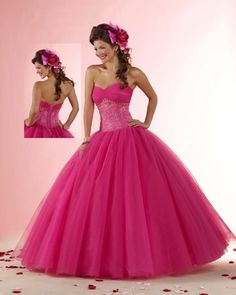 Vestidos de 15 años coloridos