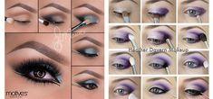12-Easy-Summer-Eye-Make-Up-Tutorials-For-Beginners-Learners-2015