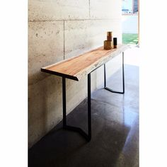 The River console in Black Ace and Tasmanian Blackwood #JardanBeachCollection