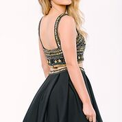 Stun the Crowd in Jovani Style 36620 Available at WhatchamaCallit Boutique