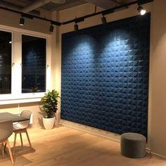 Lydabsorbent til vegg i dekorativ kork med tekstur Cork Panels, Cork Wall, Wall Design, Future House, Curtains, Luxury, Organic, Office Ideas, Home Decor