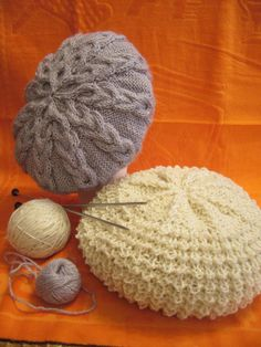 cable beret knitting pattern | make handmade, crochet, craft