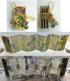 Artfully Musing: Tiny Glass Book - checkout my blog for the tutorial -http://artfullymusing.blogspot.com/2015/01/three-glass-books-with-tutorials-new.html