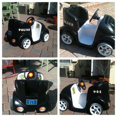 Halloween 2012 Police Car
