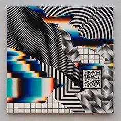 Acid Colors Street Art by Felipe Pantone - streetart Glitch Art, Graphic Design Posters, Graphic Design Inspiration, Interaktives Design, Posters Conception Graphique, New Retro Wave, Plakat Design, Art Graphique, Grafik Design