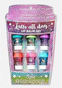 Gifts For Her Birthday Friend Lip Balm Ideas Makeup Kit For Kids, Kids Makeup, Cute Makeup, Chapstick Lip Balm, Lipgloss, Lipstick, Tween Mode, Justice Makeup, Gloss Labial