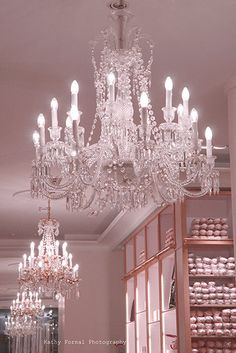 Paris Photography Repetto Ballet Shop Chandelier by KathyFornal