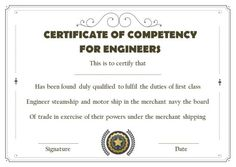 Certificate of Competency: 22 Templates in Word, Excel and PDF - Template Sumo Certificate Templates, Sumo, Pdf, Words, Horse