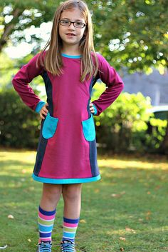 Take Two: Colourblocked Panelled Pinafore