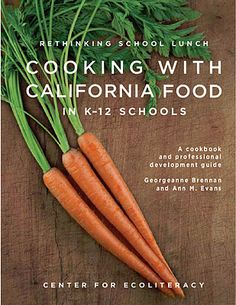 Cooking with California Food..classes can make their own regional cookbooks. Part of project could include researching place-based foods, photographing and writing about those plants and how to cook them (see http://pinterest.com/pin/278026976968656327/)
