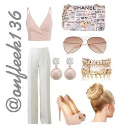 """Untitled #362"" by onfleek136 ❤ liked on Polyvore featuring Michael Kors, Chanel, H&M and River Island"