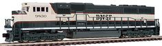 Kato N Scale EMD SD70 MAC at BLW.