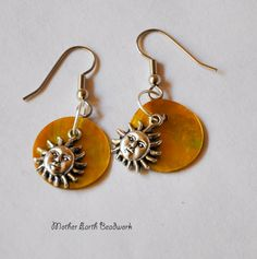 Hey, I found this really awesome Etsy listing at https://www.etsy.com/listing/187086387/small-yellow-sunshine-earrings