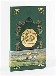 Outlander Crown Thistle Journal Horse Deluxe Dark