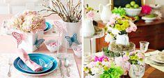 Cómo decorar la mesa de primavera - http://www.decoora.com/como-decorar-la-mesa-de-primavera/