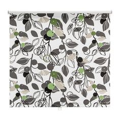 Retro Fruits And Seeds Fine Quality Roller Blind Roller