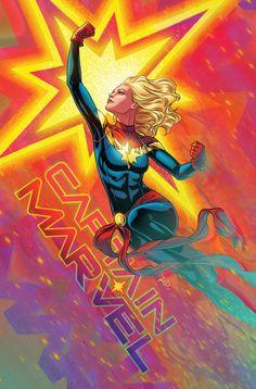 Captain Marvel #23 Variant - Russell Dauterman Marvel Comic Books, Marvel Comics, Marvel Dc, Batman Hush, Captain Marvel Carol Danvers, Lady Loki, The Mighty Thor, The Villain, Amazing Spider