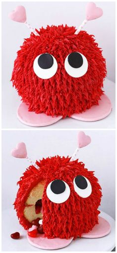 How To Make A Warm Fuzzy Piñata Cake