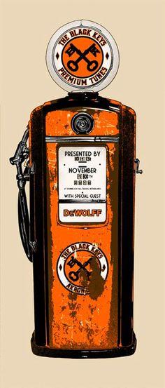 The Black Keys (concert posters  - 33)