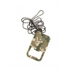 Dog Tag Bottle Opener with chain - Acu Digital Camo