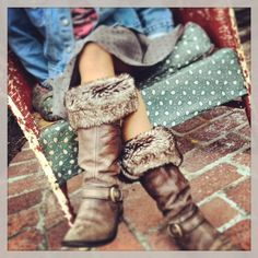 Whether you're hitting the slopes or heading to the store, these boot cuffs offers a versatile look ideal for any time wear.