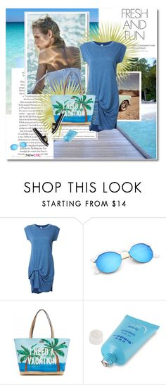 """Sunkissed - Newchic#50"" by undici ❤ liked on Polyvore featuring Riviera Club, Kate Spade and Moschino"