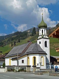 Gerlos, Kirche Hl. Leonhard und Lambert AUT