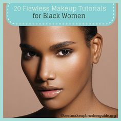 69 Trendy Makeup Looks For Black Women Tutorials Natural Hair Black Girl Makeup, Girls Makeup, Beauty Make-up, Beauty Hacks, Beauty Tips, Dark Beauty, Clean Beauty, Beauty Products, African American Makeup