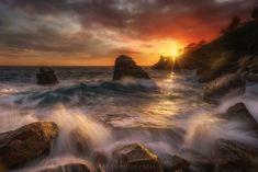https://flic.kr/p/XYVskC | Arduis tempus | Sunset. Atardecer. Capvespre. Occasum  Cala dels Frares. Lloret de Mar  #E50 (3)
